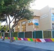 Vista exterior escuela