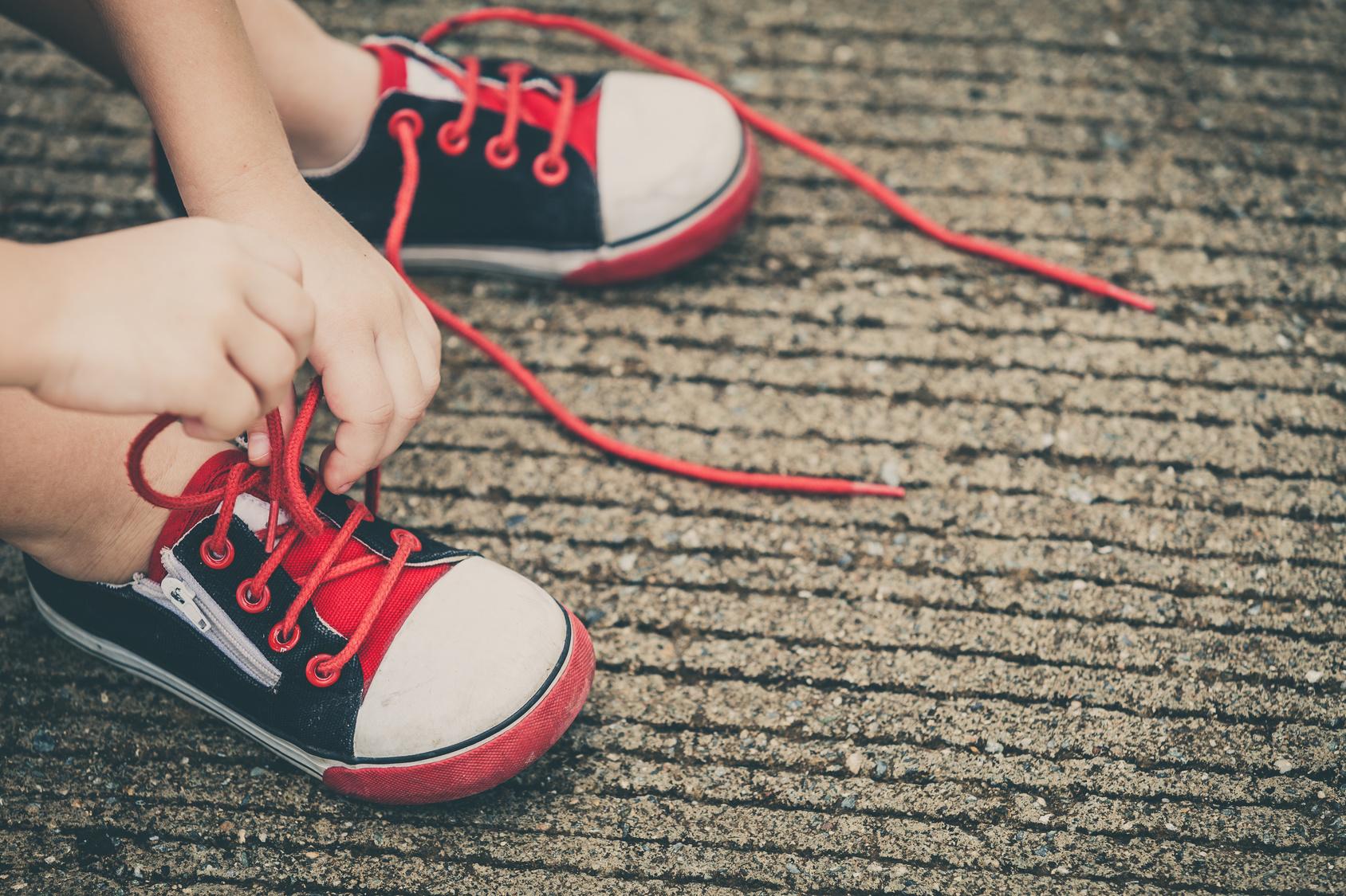 Elegir correctamente el calzado de los niños